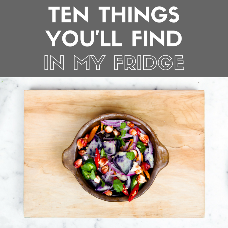 10 things you ll find in my fridge Can you put hot food in the refrigerator