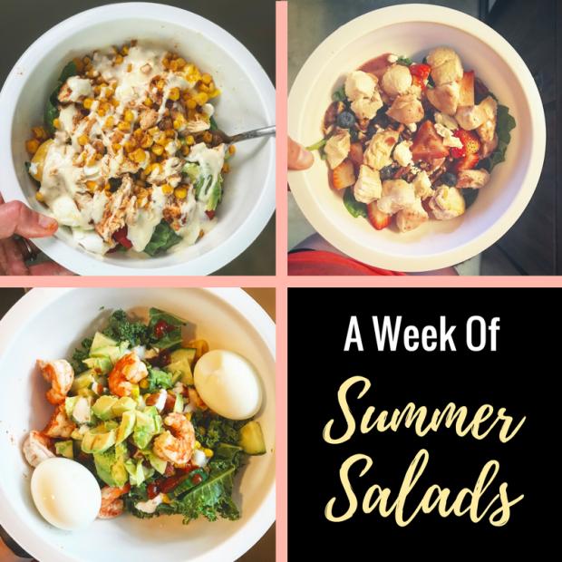 A Week Of Summer Salads